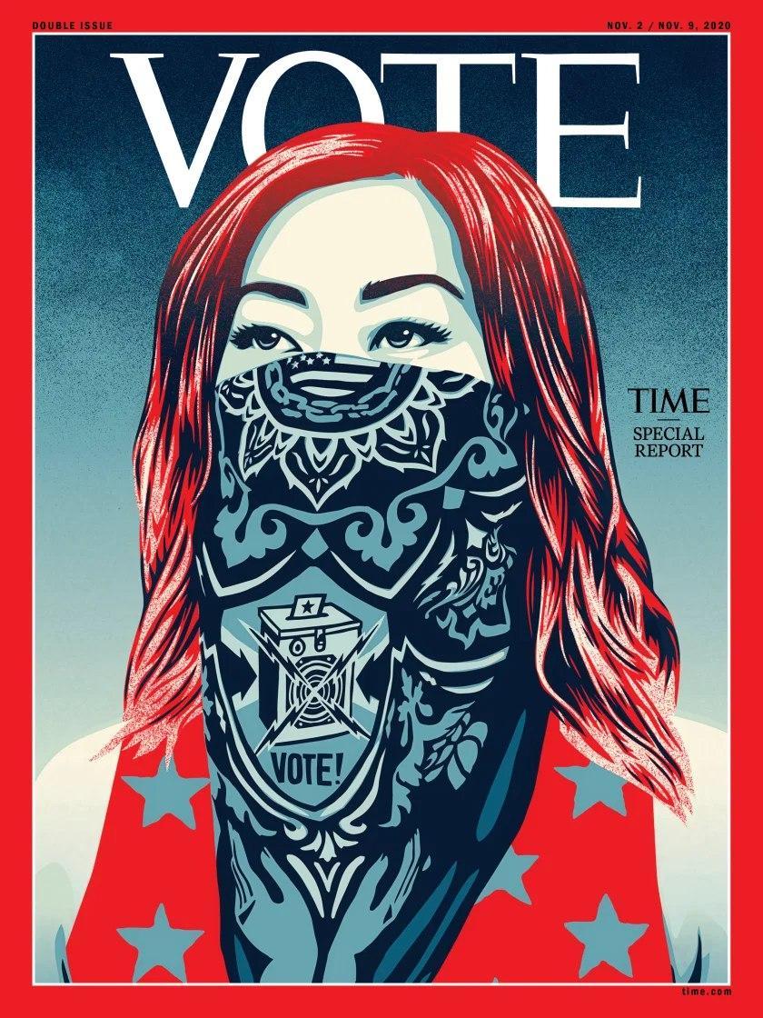 تغییر انتخاباتی لوگوی مجله تایم پس از یک قرن